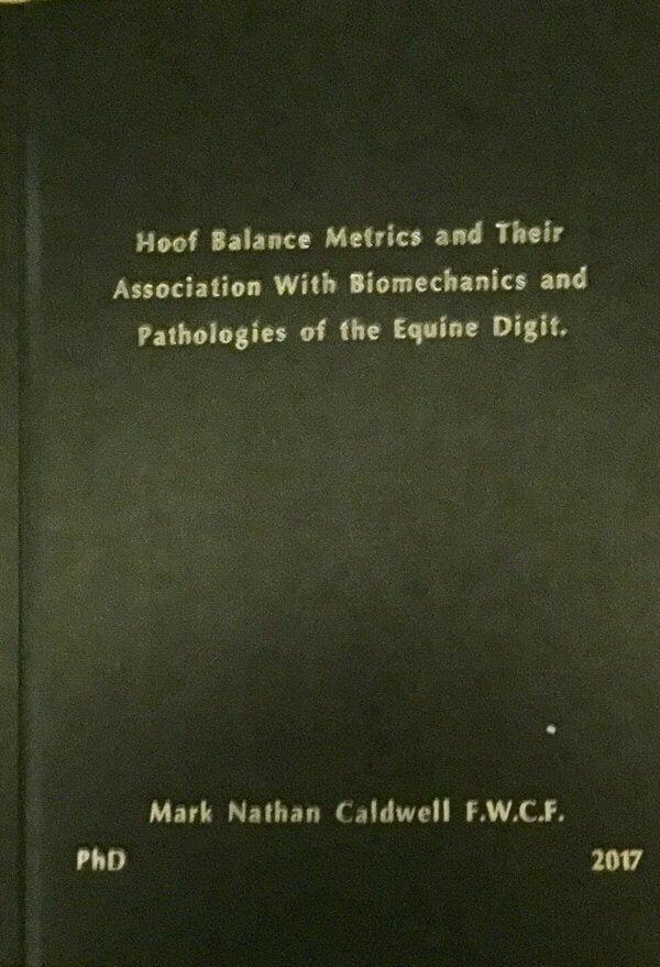 Hoof morphology and the link to pathologies hard bound