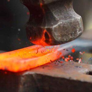 Forja y fabricación de calzado