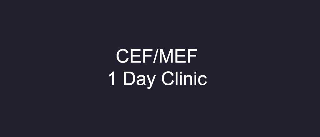 CEF / MEF 1 napos klinika