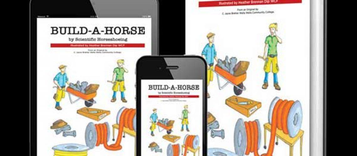 Construa um livro de cavalos